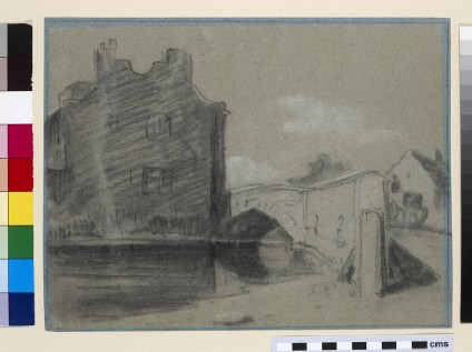 Barnes Pool, Eton, with Baldwin's Bridge