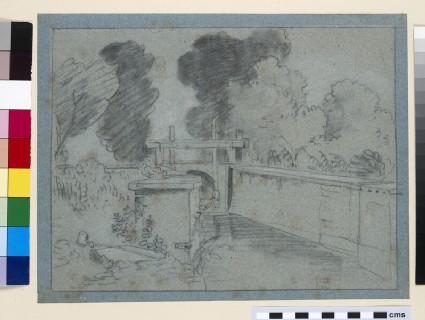 A Sluice on the Thames near Eton