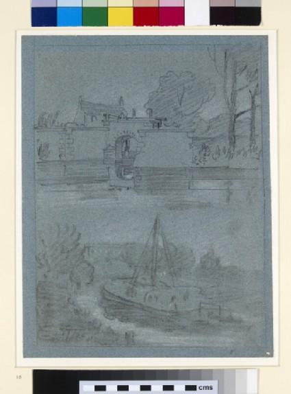 Two Views on the Thames, near Eton