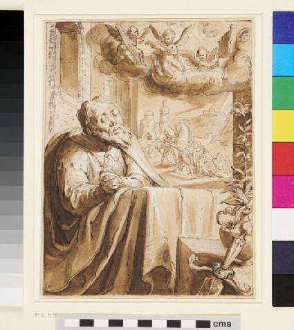 Saint Paul (Saul of Tarsus) in Penitence