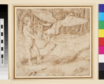 Unidentified allegorical scene