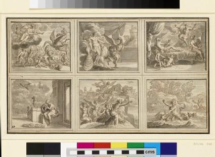 Six Illustrations for Ovid's 'Metamorphoses'