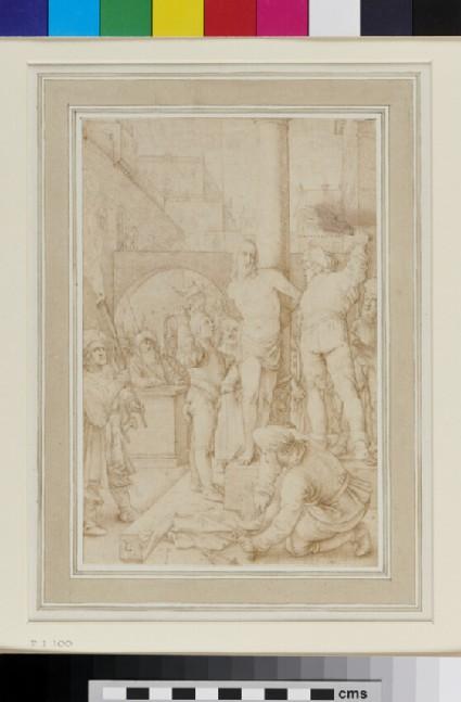 The Flagellation, after Hendrik Goltzius
