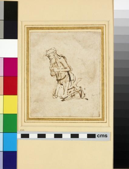 Study of a kneeling Figure