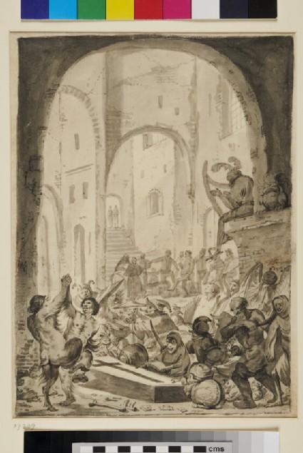 An Incantation Scene