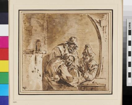 Three Peasants in a Tavern