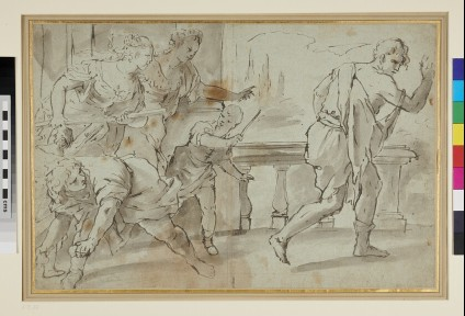 Scene from the Story of the Prodigal Son