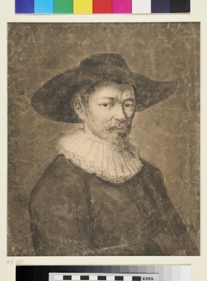 Recto: Portrait of Herman Doomer<br />Verso: Nude Male Torso