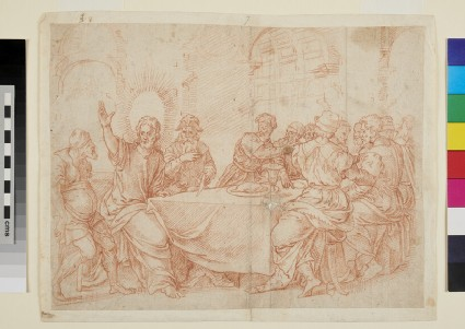 Christ at a Banquet (Christ healing a lame Man)