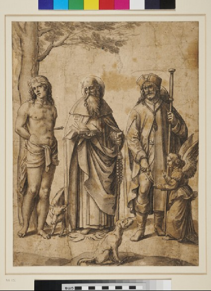 Saint Sebastian, Saint Anthony and Saint Roche