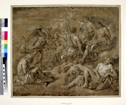 Phaeton begging for the Chariot of Apollo