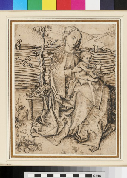Recto: The Virgin and Child <br />Verso: Studies of Rats