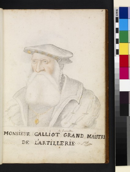 Jacques Ricard, called Galiot de Genouilhac