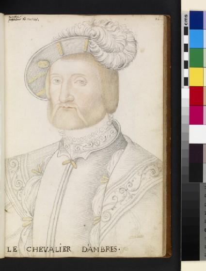 Portrait of François de Voisins, seigneur d'Ambres (possibly)