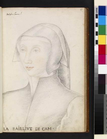 Aimée Motier de La Fayette, called la baillive de Caen
