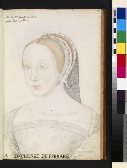 Renée de France, duchess of Ferrara