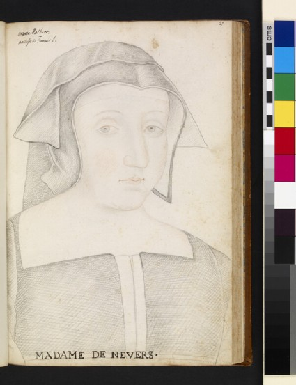 Marie d'Albret, Madame de Nevers