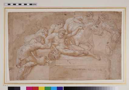Recto: The Drunkenness of Silenus