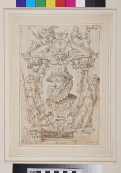 Portrait of Cesare di Negri
