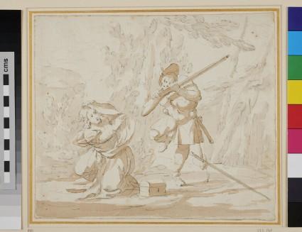 Scene from the Commedia dell' Arte