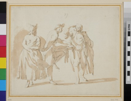 Scene from the Commedia dell' Arte