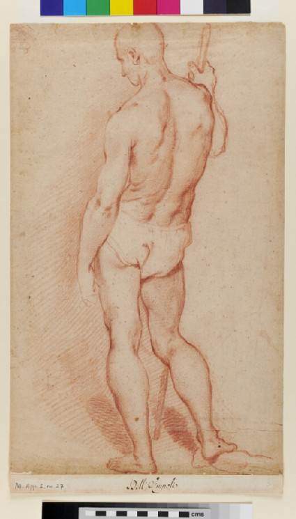 Study of a Man, from behind