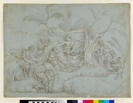 The Birth of Apollo and Diana