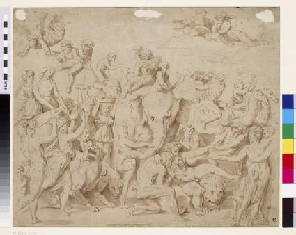 The Triumph of Bacchus in India
