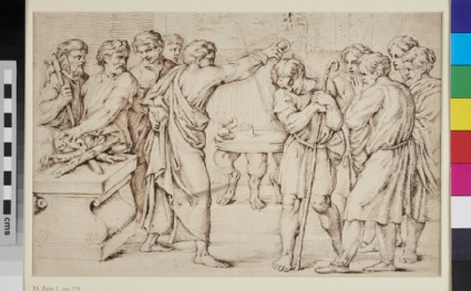 David anointed by Samuel