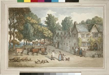 A Farmhouse at Hengar, Cornwall