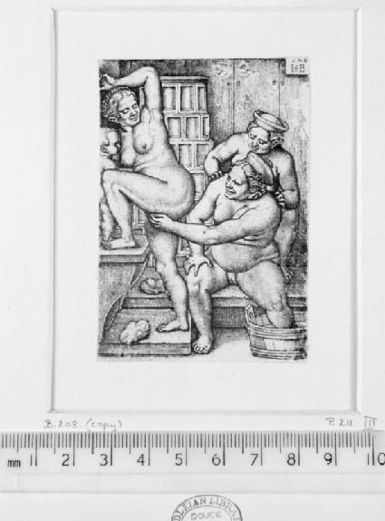 Three women in the bath-house