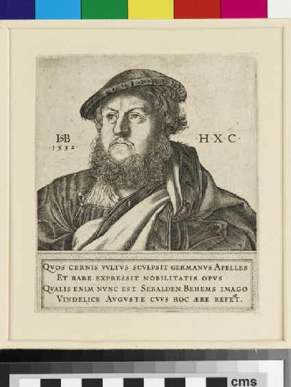 Portrait of Joachim Hoechstetter, copy in reverse