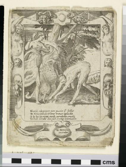 Juno sending Famine against Crasiton