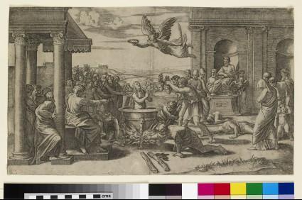 The Martyrdom of St Cecilia