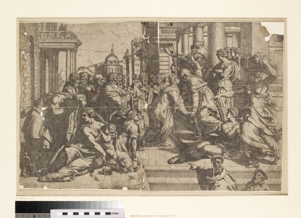 The Visitation of the Virgin to St Elisabeth