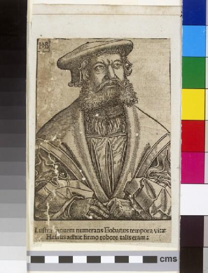 Portrait of Eobanus Hessus