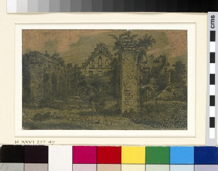 Ruins of the Abbey of Rijnsburg