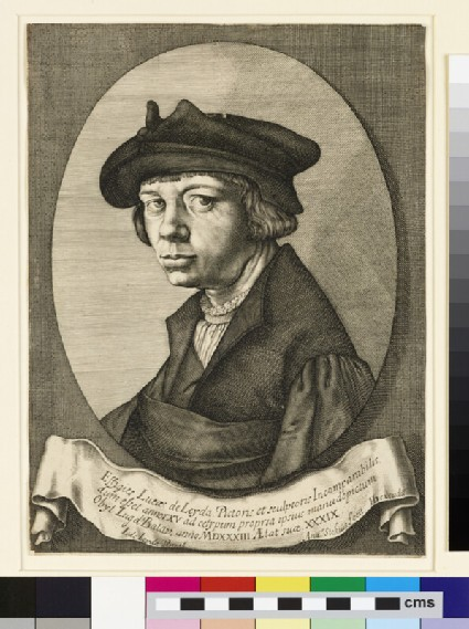 Portrait of Lucas van Leyden