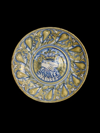 Bowl with Fede motif