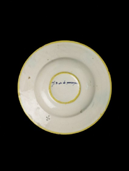Plate, the Abduction of Proserpine