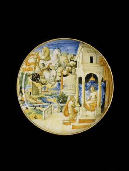 Bowl with The Story of Phaeton