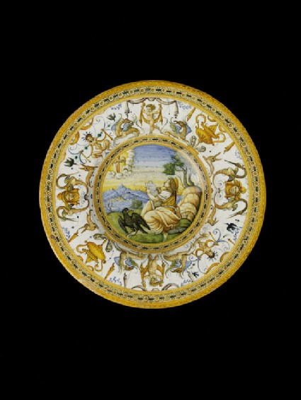 Plate, the Vision of St John the Divine