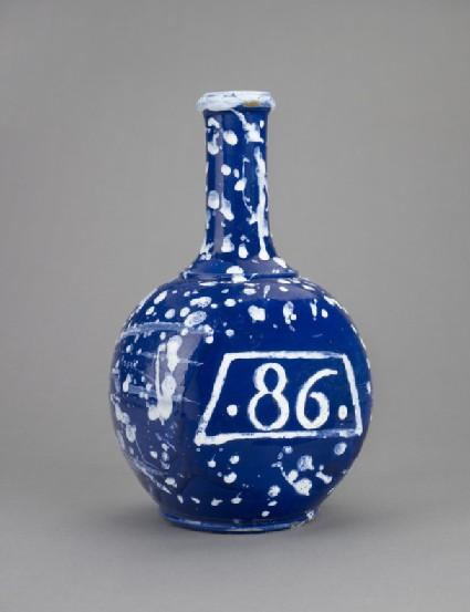 Bottle, numbered 86