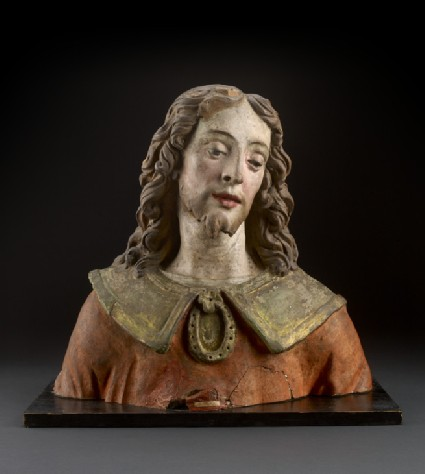 Bust of young man, fragment from an Adoration of the Magi
