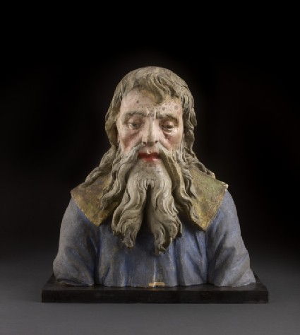 Bust of an old man, fragment from an Adoration of the Magi