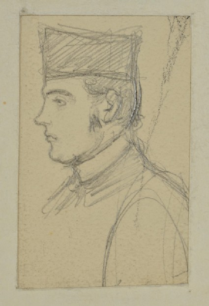 Profile Sketch of the Rev. John Hungerford Pollen