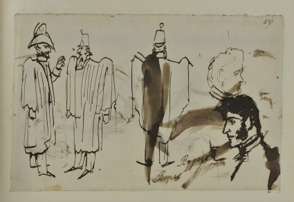 Sketches of Figures and Heads