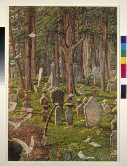 The Sleeping City: the Cemetery of Pera, Constantinople