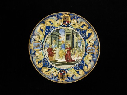 Bowl, the Decollation of St John the Baptist