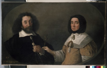 John Tradescant the Younger and Hester, his second Wife